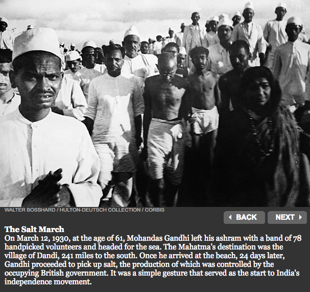 Satyagraha and Acts of Resistance